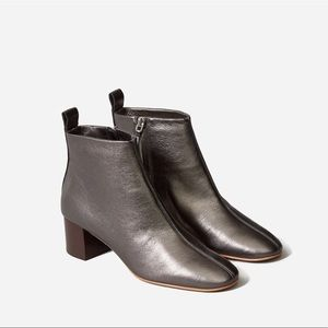 Everlane Day Boots in Metallic